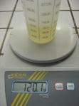 pesée HV liquides