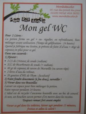 Nettoyant cuisine et gel wc alternative nature - Wc dans cuisine ...