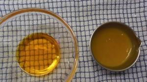 gel huileux et gel aqueux + actifs